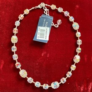 "NWT Nordstrom Crystal Collection 15"" Necklace"